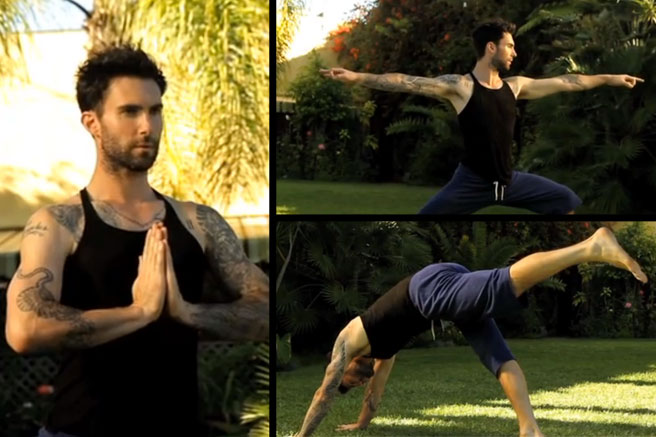 1 Male Celebs Who Love Yoga