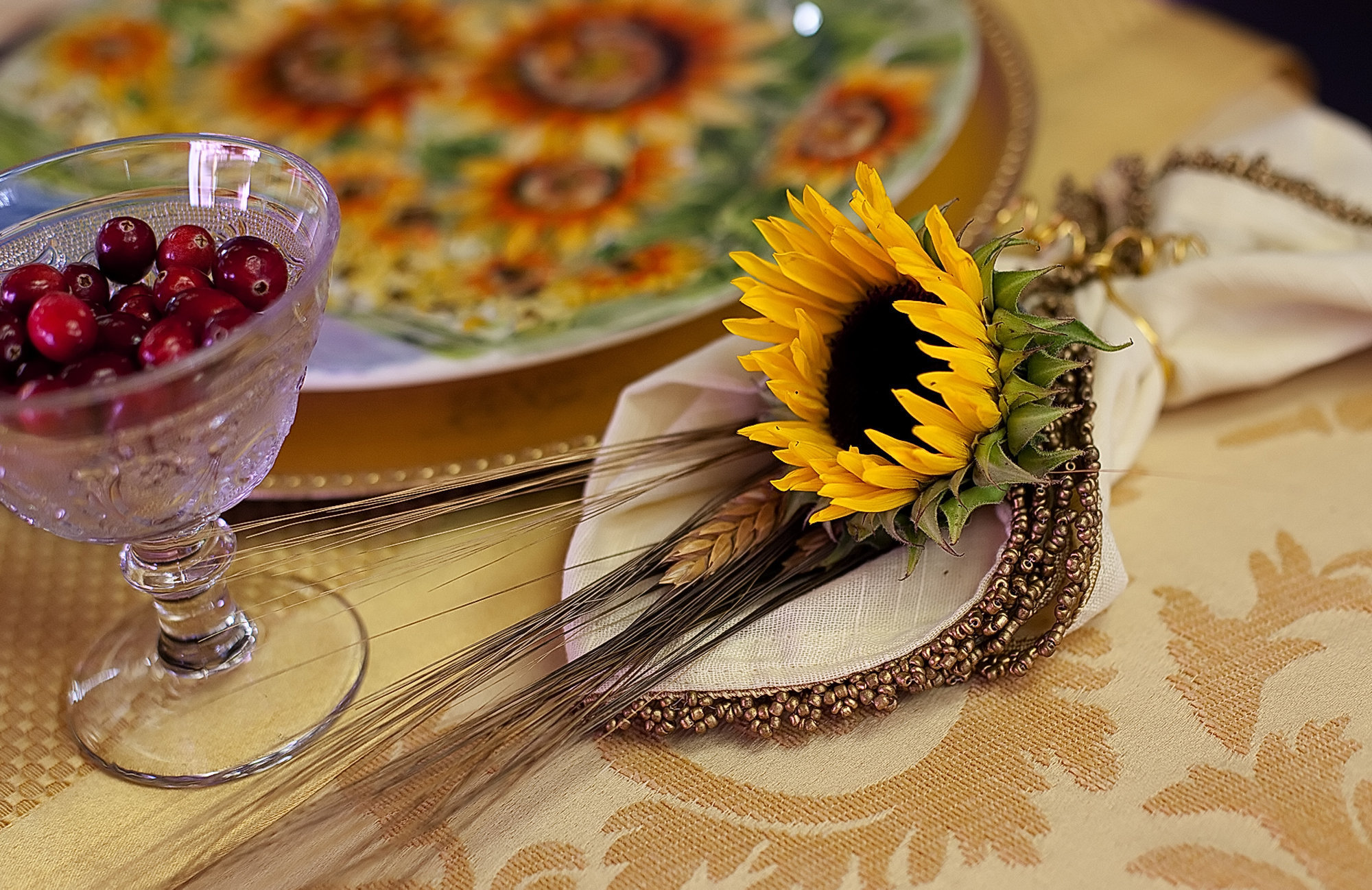 2. Table Decorations